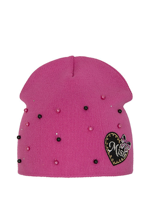 Miss Pink Pearl Girls Hat