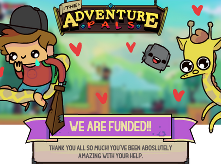 Adventure Pals - Kickstarter Success!