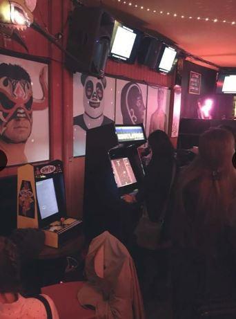 In an Arcade!
