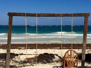 La situation sur les algues des plages de Riviera Maya