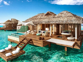 A Closer Look at Sandals' New Over-The-Water Suites