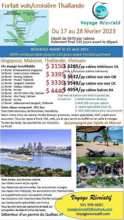 Singapour 02-2023 V7 Agence avec les vol