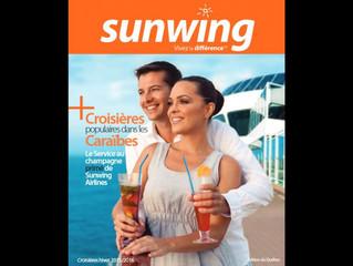 Sunwing : lancement de la nouvelle brochure Croisières 2015-2016