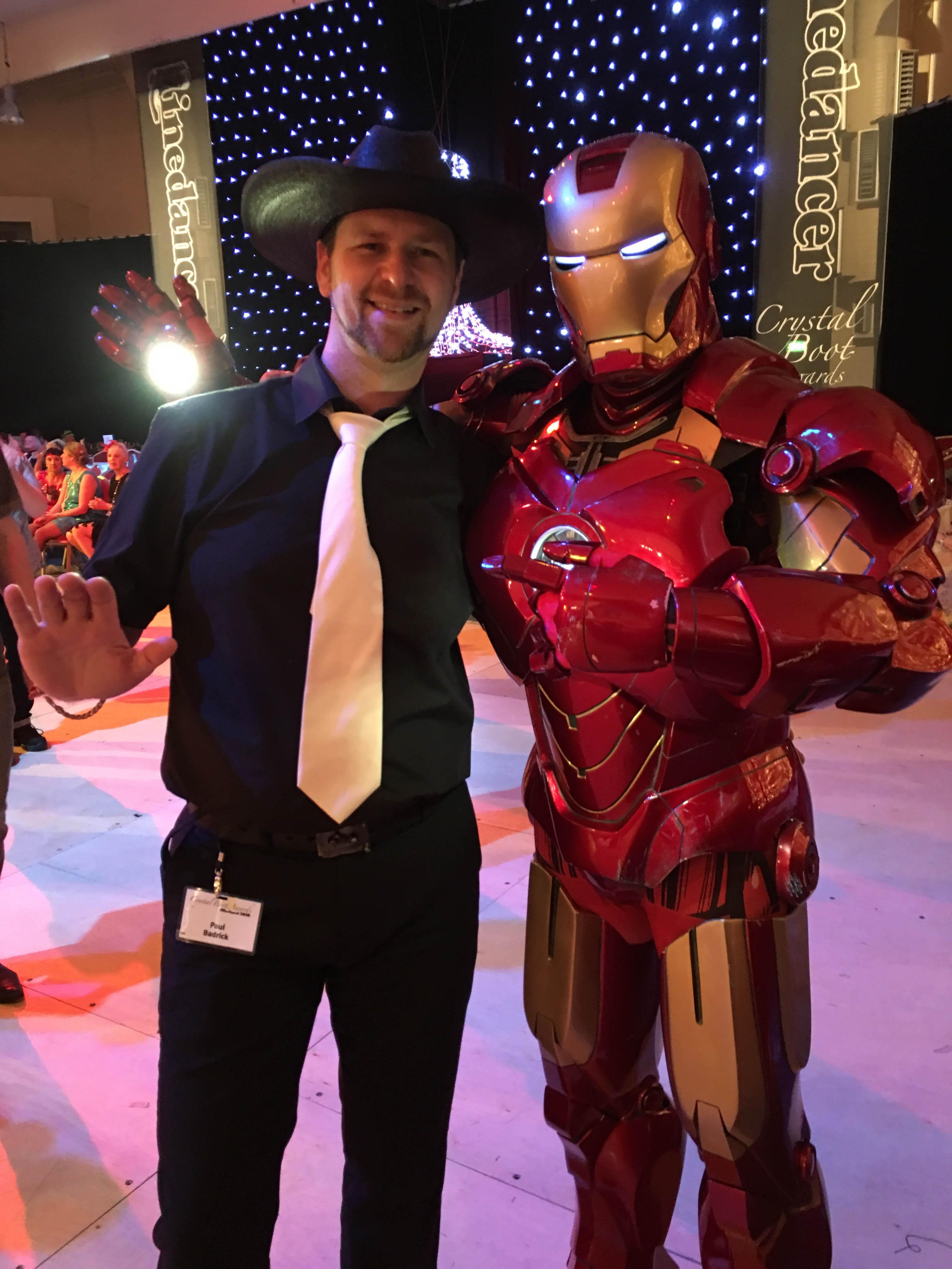 Pedro Machado as Iron Man