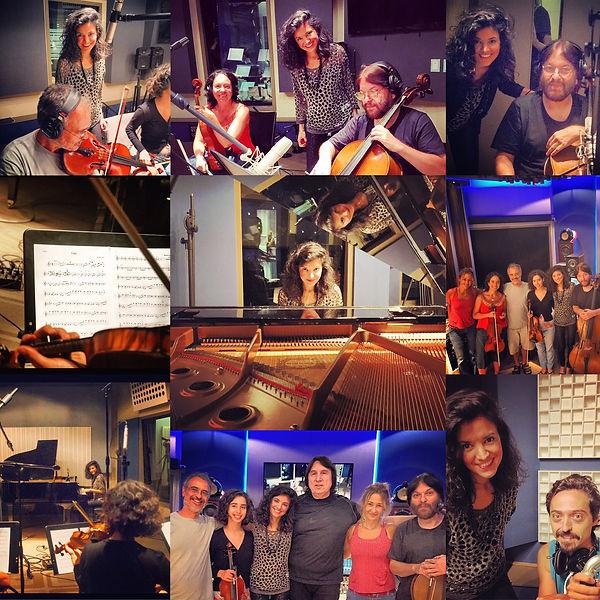 Recording Jimena Fama & La Sinfonca Argentina. Live in Buenos Aires