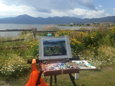 Island Park, ID Plein Air outing