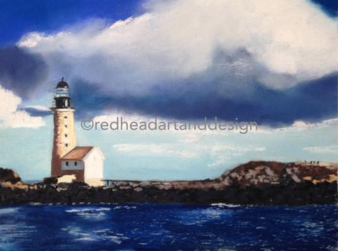 Halfway Rock Lighthouse (longview)