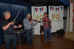 Our amazing Fiddle band