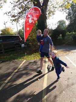 Pete's half marathon challenge