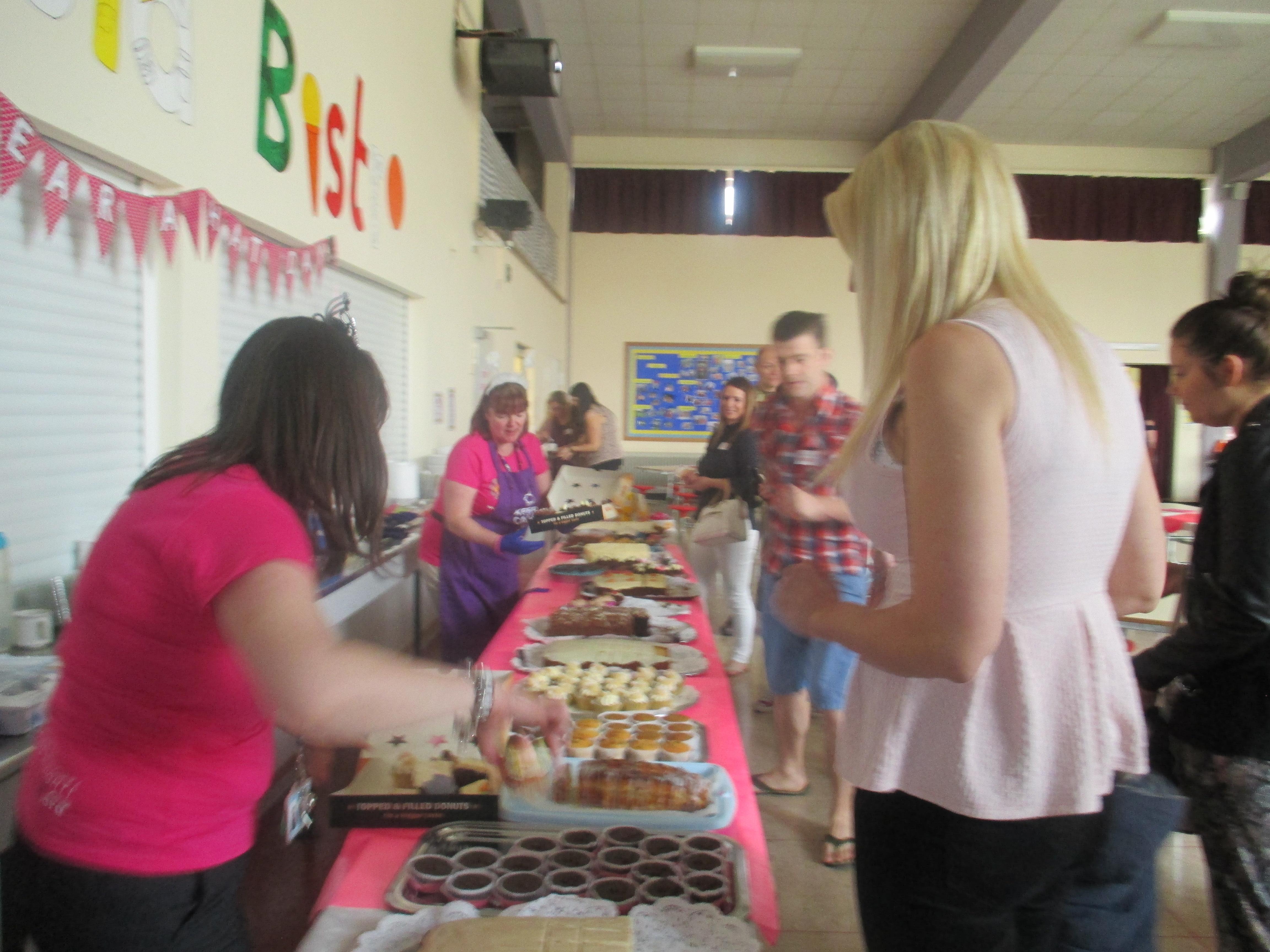 Bielefeld School bake sale