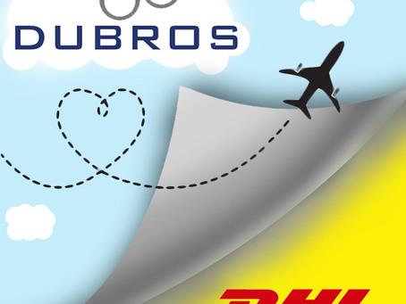 Dubros International y DHL forman alianza para garantizar un mejor servicio de envíos a sus clientes