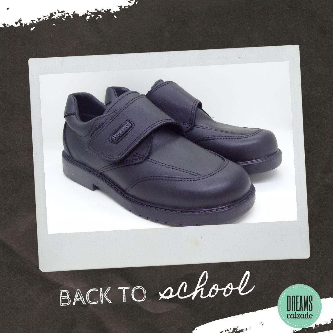 Zapatos colegiales de cuero Marcel