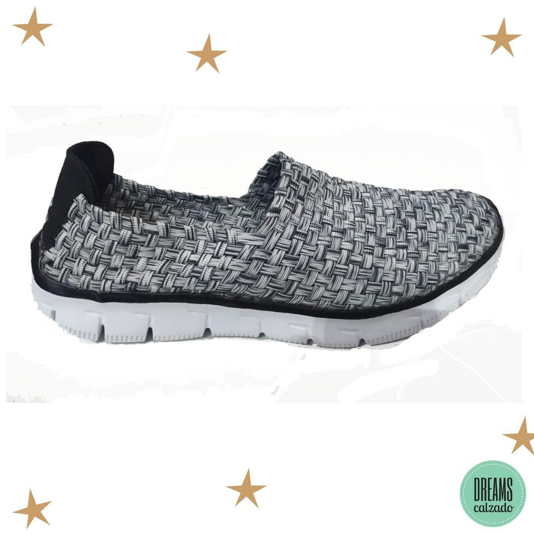 Zapatillas elastizadas Mujer Dreams Calz