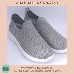 Zapatillas para mujer tipo media calce directo Wake gris Dreams Calzado Caballito Av Rivadavia 4975