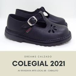 Zapatos colegiales de cuero Marcel para nena 904 petalo Dreams Calzado Caballito Av Rivadavia 4975 l