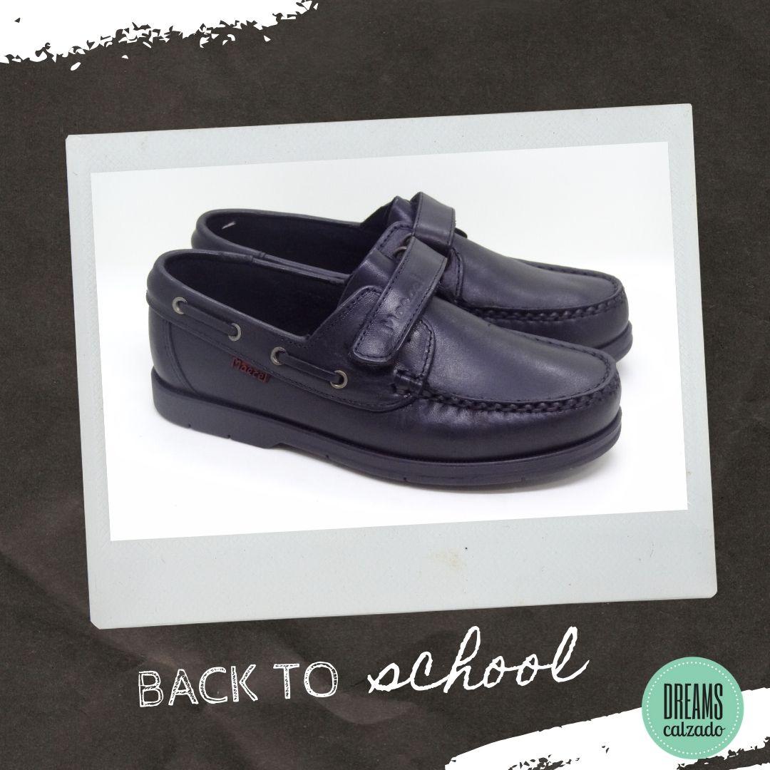 Zapatos colegiales Marcel de cuero