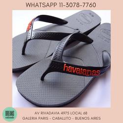 Ojotas Havaianas originales Para hombre casual Dreams Calzado Caballito Av Rivadavia 4975 Local 68 G
