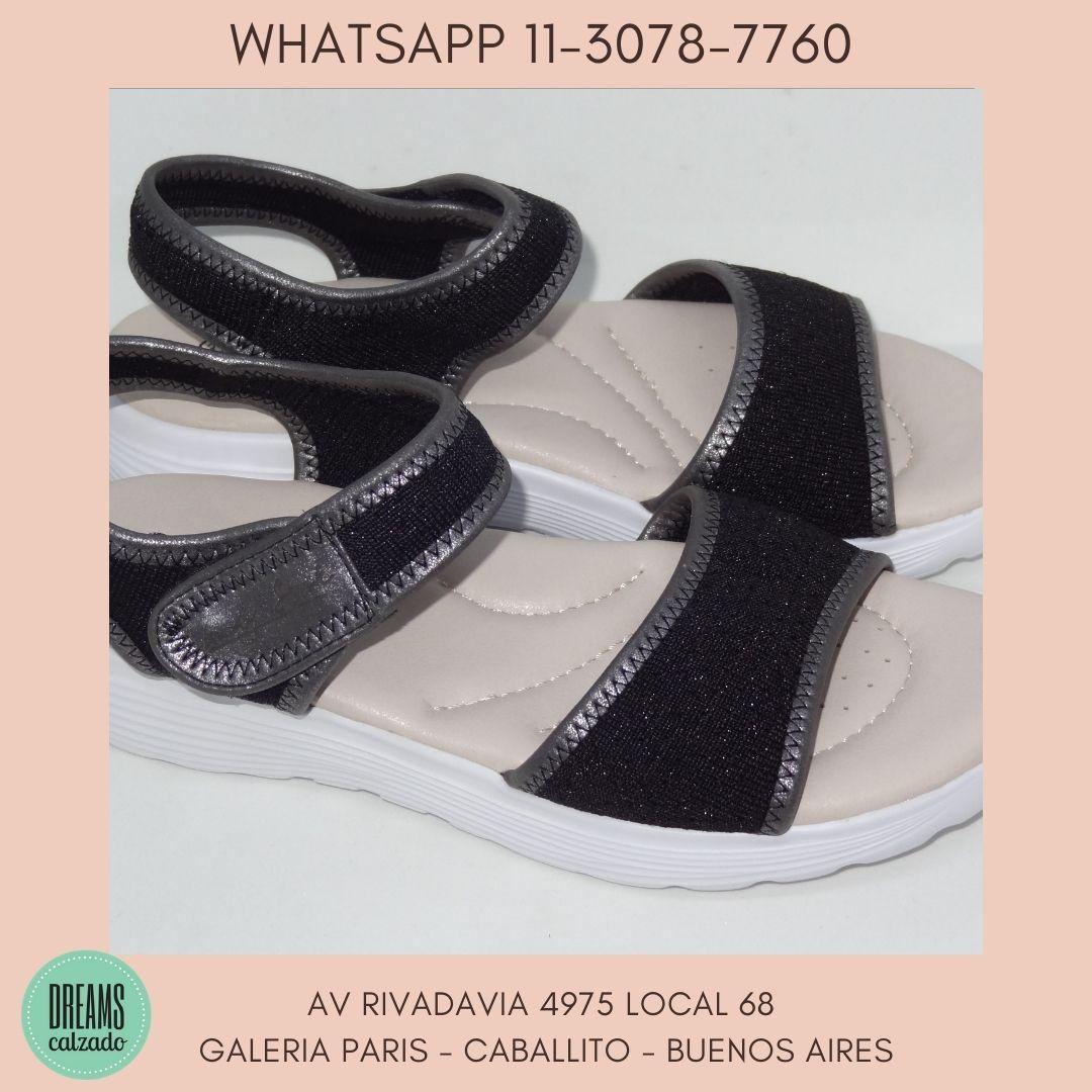 Sandalias para Mujer Lady Stork Telma acolchadas Dreams Calzado Caballito Av Rivadavia 4975 local 68
