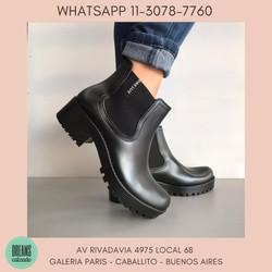 Botas de lluvia Das Luz TUCSON mujer negro Dreams Calzado Caballito Av Rivadavia 4975 local 68 Galer