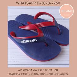 Ojotas Havaianas para Hombre dual azul originales Dreams Calzado Caballito Av Rivadavia 4975 Local 6