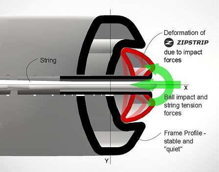 BOLT Zipstrip section detail