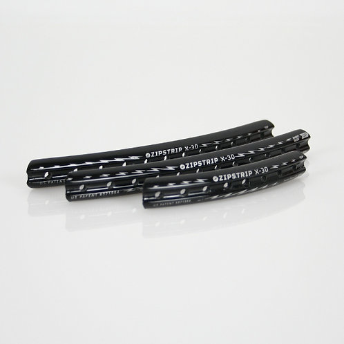 Zipstrips: X-30: 15 mm - Firm Flex (Black)