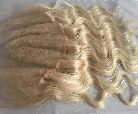 #613 Textured Lace Frontal 13x4