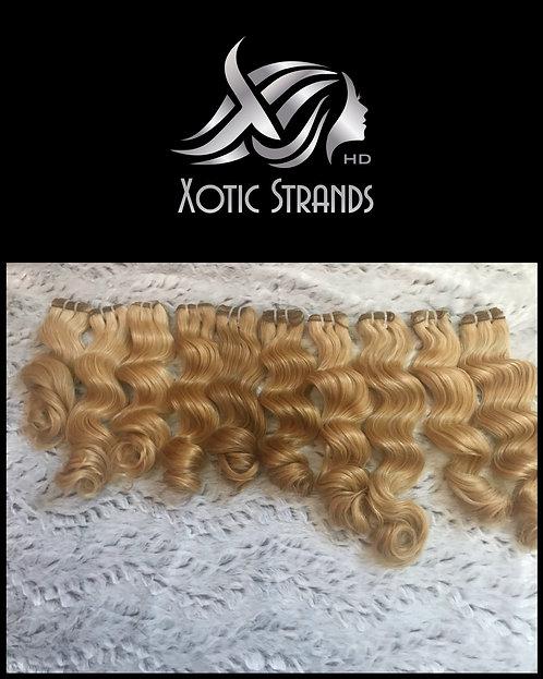 Blonde C Curl Bundles