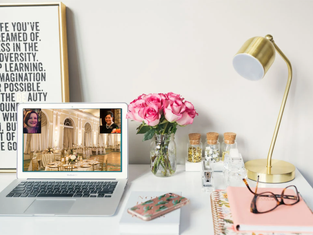 How to Plan Your Wedding from Home (or Anywhere Else for that Matter)