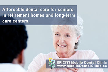 For someone with mobility impairment and difficulty leaving their house for dental appointments, especially if multiple visits are required, home-based dental cleaning and denture clinic services in home are an affordable and convenient alternative.