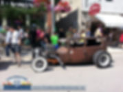 Coldwater Steampunk Festival 2015. Hot rods and antiques of all types filled Coldwater Road. During the summer Thursday nights are hot rod nights. Come out and visit the village of Coldwater. Out team at the Coldwater Denture Clinic and Barrie Denture Clinic always look forward to this spectacular event. Our denture services are available for residents in Orillia and Midland. Midland denture clinic services and denturist in Orillia denture clinic.