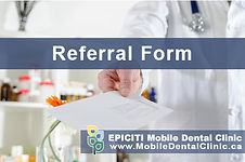 If you are caring for an elderly who is bedridden as a result of illness or hospitalization, or looking after a senior with mobility impairment who has difficulty making it to the dental clinic in the Toronto and Scarborough area, there is a mobile dentistry service available. Referring to EPICITI is straightforward. Simply contact our office via email or give us a call at 905-237-8422. Our mobile denturist is located at 561 Edward Avenue in Richmond Hill.