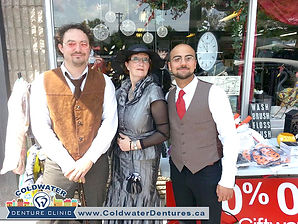 Coldwater Steampunk Festival spans the whole village of Coldwater, converting a village by the river into a time flashback. Coldwater Steampunk Festival 2015 is going to be epic.