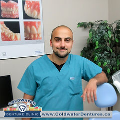 False teeth can be problematic for the denture wearer and can cause discomfort, pain and embarrassment. If you're not happy with the look of fit of your dentures contact our denture Clinic in Orillia and Midland region. ODSP & OW denture coverage avail.