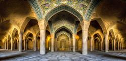Palais d'Ali Qapu en Iran