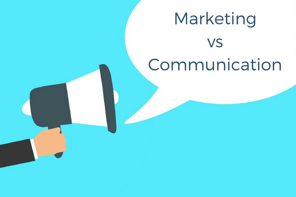 Différence entre marketing et communication