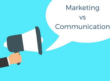 Quelles différences entre le marketing et la communication