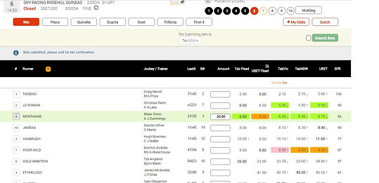 """Racemate, horse racing, bets, tab, racing, punting,internet betting."""", """"live data, multiples, win, place, trifecta, gallop, grayhound, trots"""