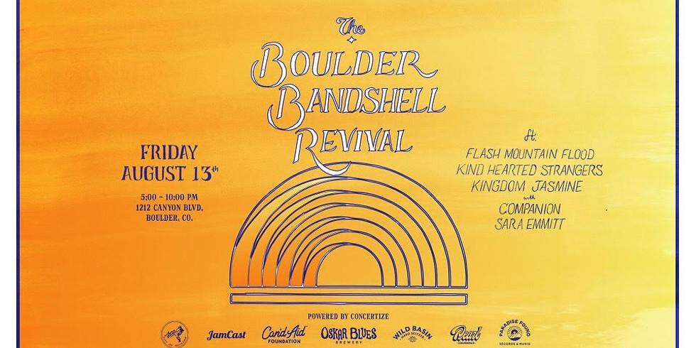 Boulder Bandshell Revival - powered by Concertize
