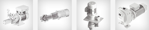 This image shows a selection of the Pumps sold by BMG Technologies