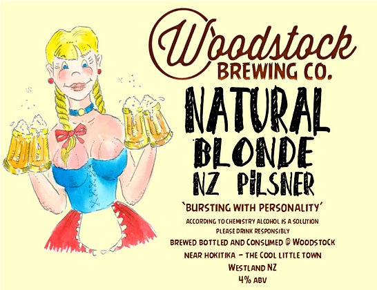 Natural Blonde Pilsner 1.25 Litre