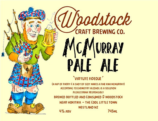 McMurray Pale Ale 1.25 Litre