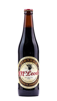 MCLEOD'S PIONEER PORTER 500ML Beer