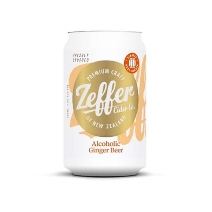 Zeffer Alcoholic Ginger Beer 330ml Can