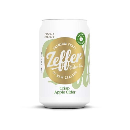 Zeffer Crisp Apple Cider 330ml Can