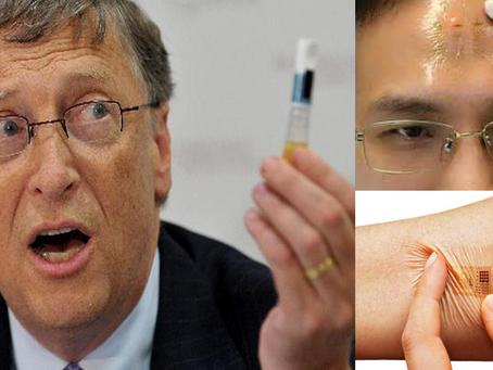 Vacina de Bill Gates !!! Tatuagem Secreta? O Corona será o argumento para o uso da marca da Besta?