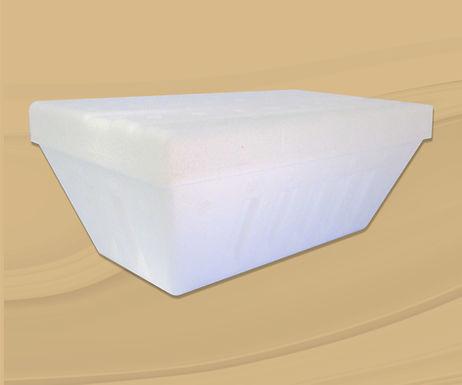 Envase térmico para helado termosellado 1 l.