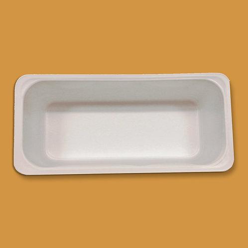 Depósito de plástico blanco 5 l.