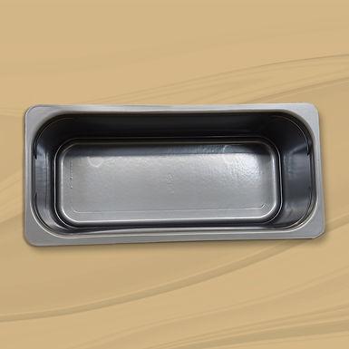 Depósito de plástico gris 5 l.
