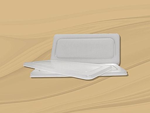 Tapa plástico transparente para depósitos de 5 l.